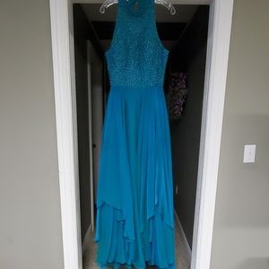 Sherri Hill prom dress size 12 & earrings